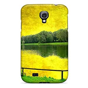GOKFCAO2941oSxnQ Tpu Case Skin Protector For Galaxy S4 Landscape Painting With Nice Appearance