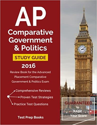 Book AP Comparative Government & Politics Study Guide 2016: Review Book for the Advanced Placement Comparative Government & Politics Exam