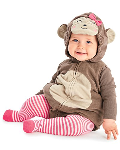 Carters Baby Halloween Costume Many Styles (12 months, Cute Monkey) (Baby Girl Monkey Costume)
