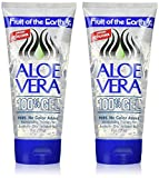 Fruit of the Earth Aloe Vera 100% Gel, 6 Ounce (Pack of 6)