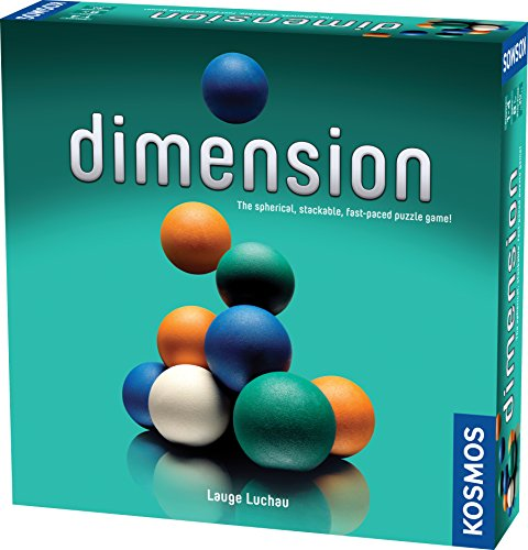 Thames & Kosmos Dimension The Spherical Stackable Fast Paced Puzzle Game