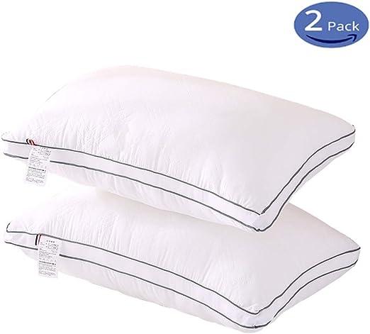 ZZD Pillows 2 Pack, Hotel Pillow Down