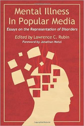 com mental illness in popular media essays on the mental illness in popular media essays on the representation of disorders