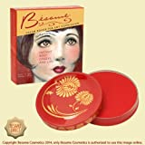 Besame Cosmetics Crimson Cream Rouge, Crimson, 0.26 Ounce