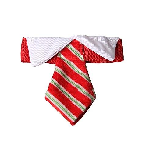 ZH Mascotas Ajustables Dog Cat Bow Tie Collar de Corbata de Traje ...