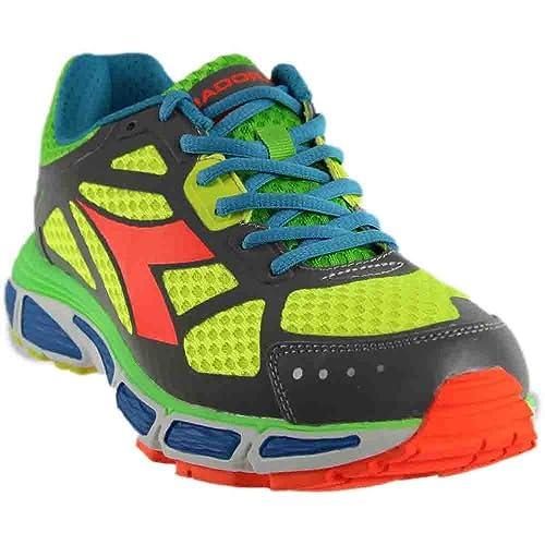 e36ff126cbb9a Diadora Mens N-4100-2 Bright Running Athletic Shoes,