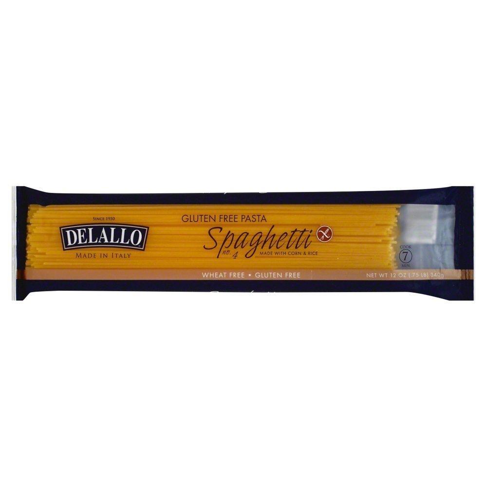 Delallo Pasta Gf Crn&Rce Spaghetti
