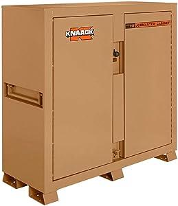 Knaack Storagemaster174; Piano Box w/Ramp, 47.5 Cu. Ft, Steel, Tan - 111