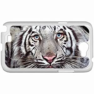 Custom Fashion Design Samsung Galaxy NOTE 2 SII Back Cover Case Personalized Customized Samsung Note 2 Diy Gifts In Captivation White