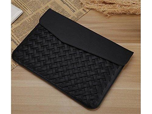 Yunqir Multi-functional 15 Inch Women PU Leather Tablet Laptop Bag Handbag Computer Inner Bag Envelope Bag