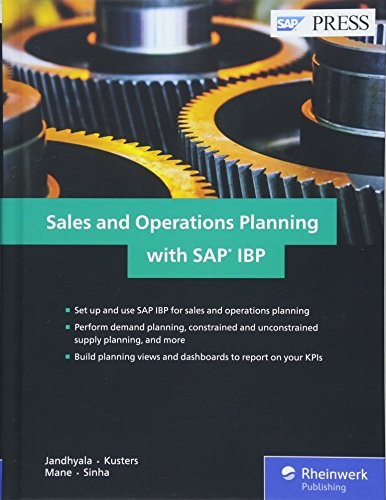 Sales and Operations Planning (S&OP) with SAP IBP (SAP PRESS)