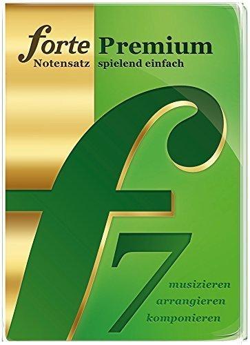 Forte 7 Premium Notationsprogramm für anspruchsvolle Hobby-und Profimusiker