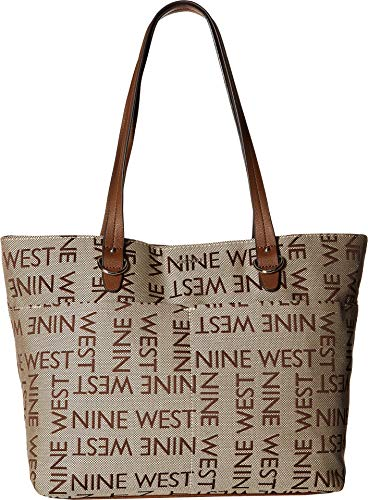 Nine West Women's Genevieve Tote Khaki Brown One Size from Nine West