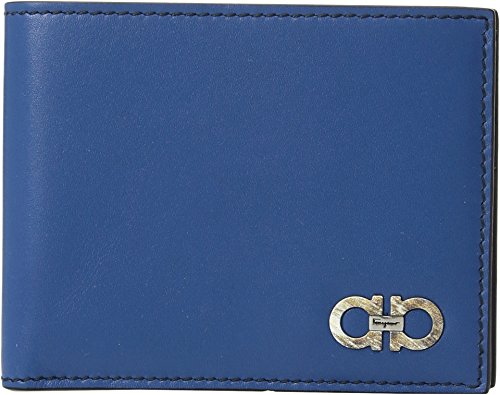 Salvatore Ferragamo  Men's Alain Wallet - 66A160 Ocean/Blue Marine One Size