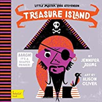 Treasure Island: A BabyLit® Shapes Primer (BabyLit Books)