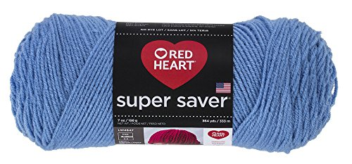 Red Heart Super Saver Yarn, Light Periwinkle