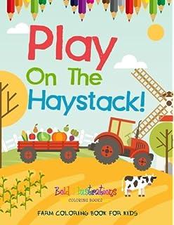 Farm Coloring Book: Cute Barnyard Coloring Book for Children: Easy ...