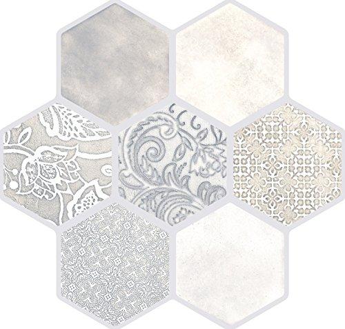 """Emser Tile F19VIRTIV1818 """"Virtue"""" Porcelain Tile, 18"""" x 18"""", Ivory"""
