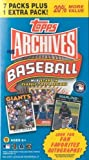 2012 Topps Archives Baseball Factory Sealed Retail Box- Look for Rare Yu Darvish+Bryce Harper AUTOGRAPH. Look for Fan Favorite Autographs, Game Used Jerseys plus Today's Stars and Rookies in Classic Topps Designs!
