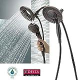 Delta In2ition 5-Function Handheld Dual Shower Head 2-in-1, Venetian Bronze