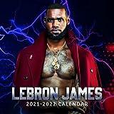 LeBron James 2021-2022 Calendar: 8.5 x 8.5 Inch