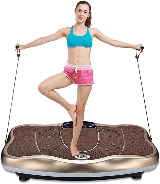 Máquina de ejercicio de pérdida de peso vibración que adelgaza ...