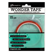 Ranger IWT27386 Inkssentials Wonder Tape Roll, 15-Feet by 1/4-Inch