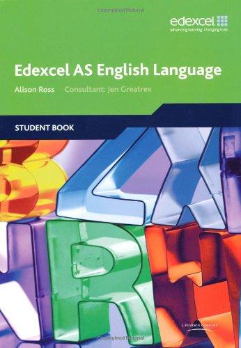 Edexcel AS English Language