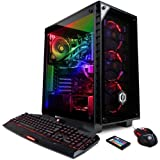 CYBERPOWERPC Gamer Supreme Liquid Cool SLC8900CPG w/Intel i7-8700K 3.7GHz CPU, 32GB DDR4, NVIDIA GTX 1070 Ti 8GB, 480GB SSD, 2TB HDD, 802.11AC WIFI & Win10 64-Bit