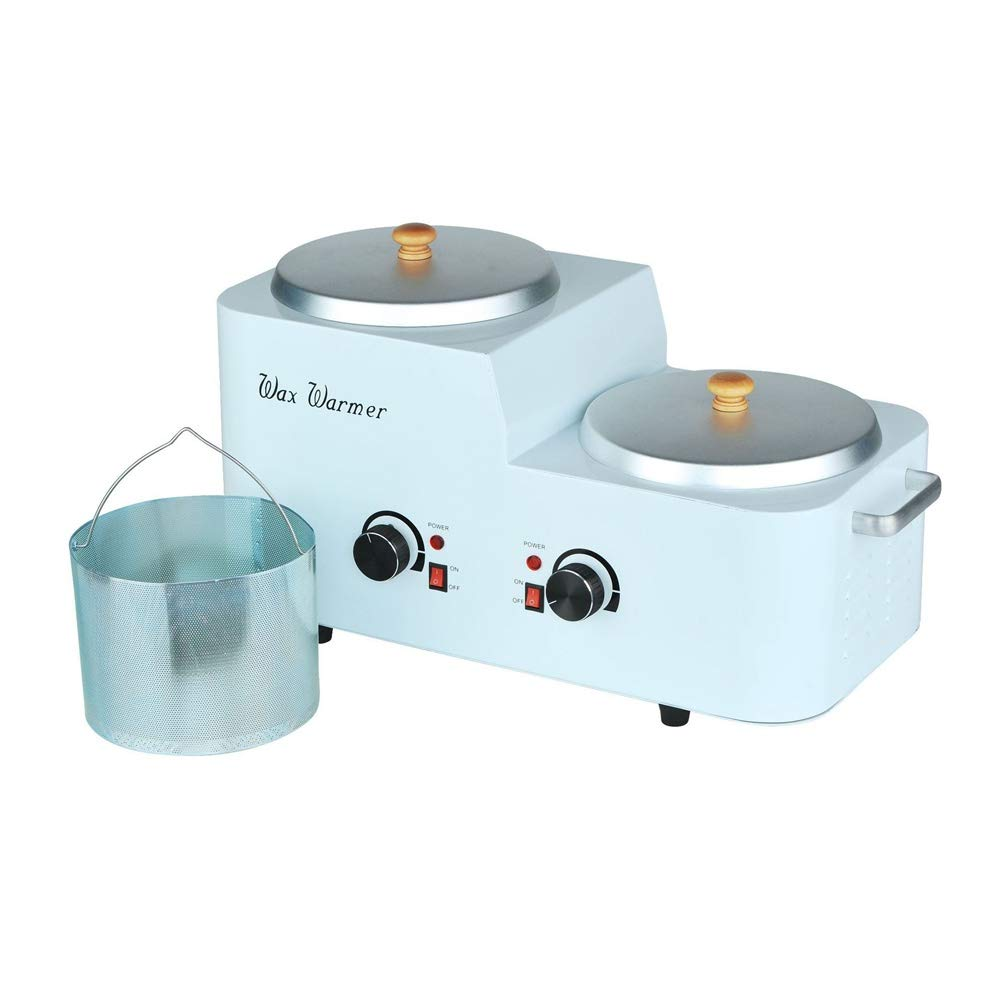 9L Wax Warmer with Filter Depilatory Candle Melts Electric Heater Dual Pot Hair Removal Epilator Machine Salon Facial Skin Equipment SPA Beauty Care