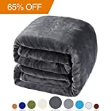 Balichun Luxury 330 GSM Fleece Blanket Super Soft Warm Fuzzy Light Deal (Small Image)