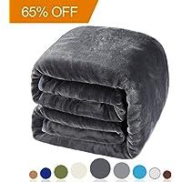 Balichun Luxury 330 GSM Fleece Blanket Super Soft Warm...