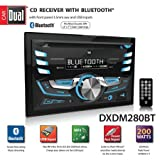 Dual DXDM280BT Double-DIN AM/FM Tuner with CD Player