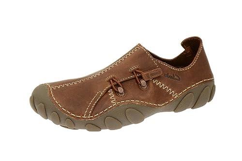 Clarks Clarks Momo Spirit 2 - Slipper - tan braun - Mocasines de cuero para hombre, color marrón, talla 41.5: Amazon.es: Zapatos y complementos