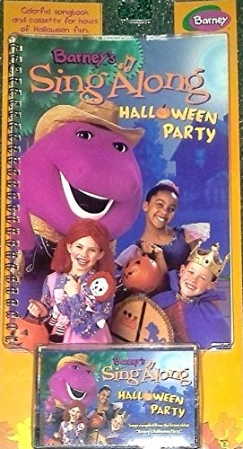 Barney Halloween Party - Barney's Sing Along Halloween Party With
