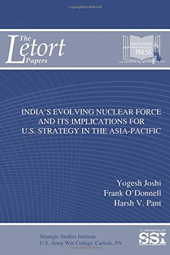 India's Evolving Nuclear Force and Its Implications For U.S. Strategy In the Asia-Pacific