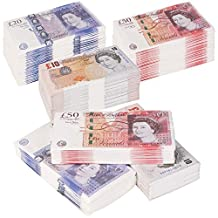 Set of 3 Pack of 16 Money £10, £20 and £50 Pound Bill Paper Buffet Party Fun Napkin Napkins