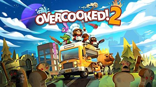 Video Games : Overcooked! 2 - Nintendo Switch [Digital Code]