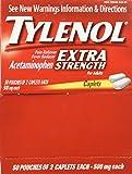 SCS Tylenol® Extra Strength Caplets - 50/2