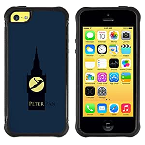 SHIMIN CAO@ Peter Pan Rugged Hybrid Armor Slim Protection Case Cover Shell For iphone 5C CASE Cover ,iphone 5C case,iphone5C cover ,Cases for iphone 5C