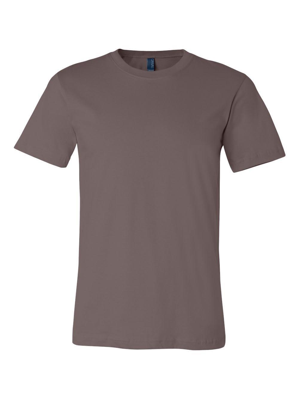 Bella 3001 Unisex Jersey Short Sleeve Tee - Pebble Brown, 3XL