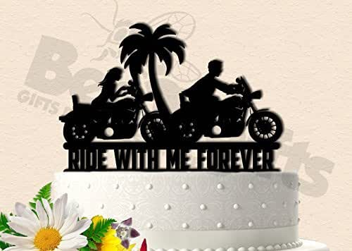 Amazon.com: Motorcycle Ride With Me Forever Biker Tropical ...