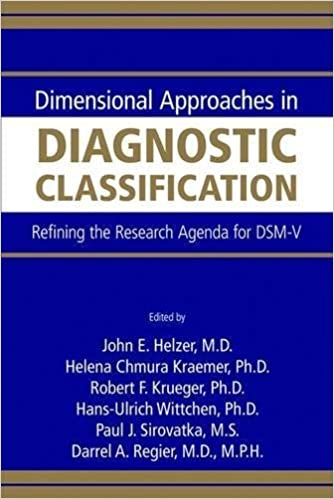 Dimensional Approaches in Diagnostic Classification ...