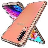 Raysmark Samsung Galaxy A70 Case, [Shock-Absorption] Air Hybrid Slim Fit Shockproof Anti-Drop Crystal TPU Bumper + [Clear] Hard Back Protective Case Cover Compatible for Galaxy A70 2019 (Clear) Raysmark