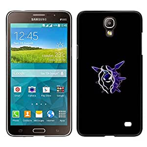 Meter Monstruo Morado Diablo OYAYO Samsung Galaxy Mega 2 //Dise?os frescos para todos los gustos! Top muesca protección para su teléfono inteligente!