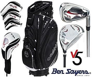 Ben Sayers M15 Set de golf completo de grafito con bolsa con ...