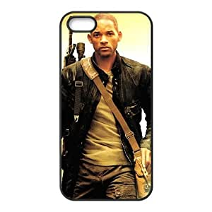 YUAHS(TM) Customized Hard Back Phone Case for Iphone 5,5S with Will Smith YAS149088