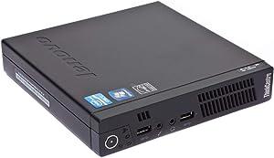 Lenovo ThinkCentre M92p Tiny Desktop - Core i5 Up to 3.6GHz, 8GB RAM, 120GB SSD, Windows 10 Pro (Renewed)