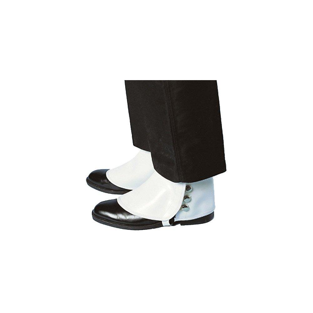 Amazon.com: Deluxe Almond/Spats de vinilo blanco, Blanco ...