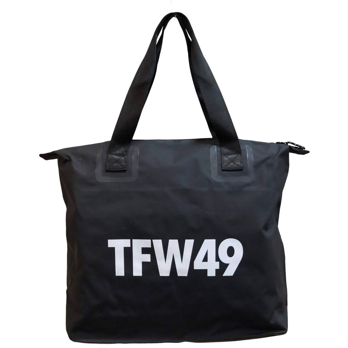 ティーエフダブリュー TFW49 ラウンド小物 ラウンドバッグ  ブラック B07Q6XWN4J